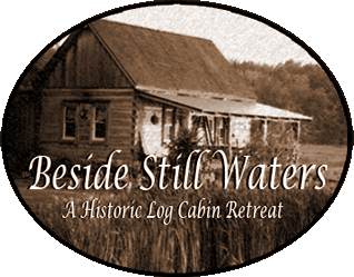 Beside Still Waters Logo Cabin Retreat